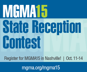 MGMA15 State Reception Contest