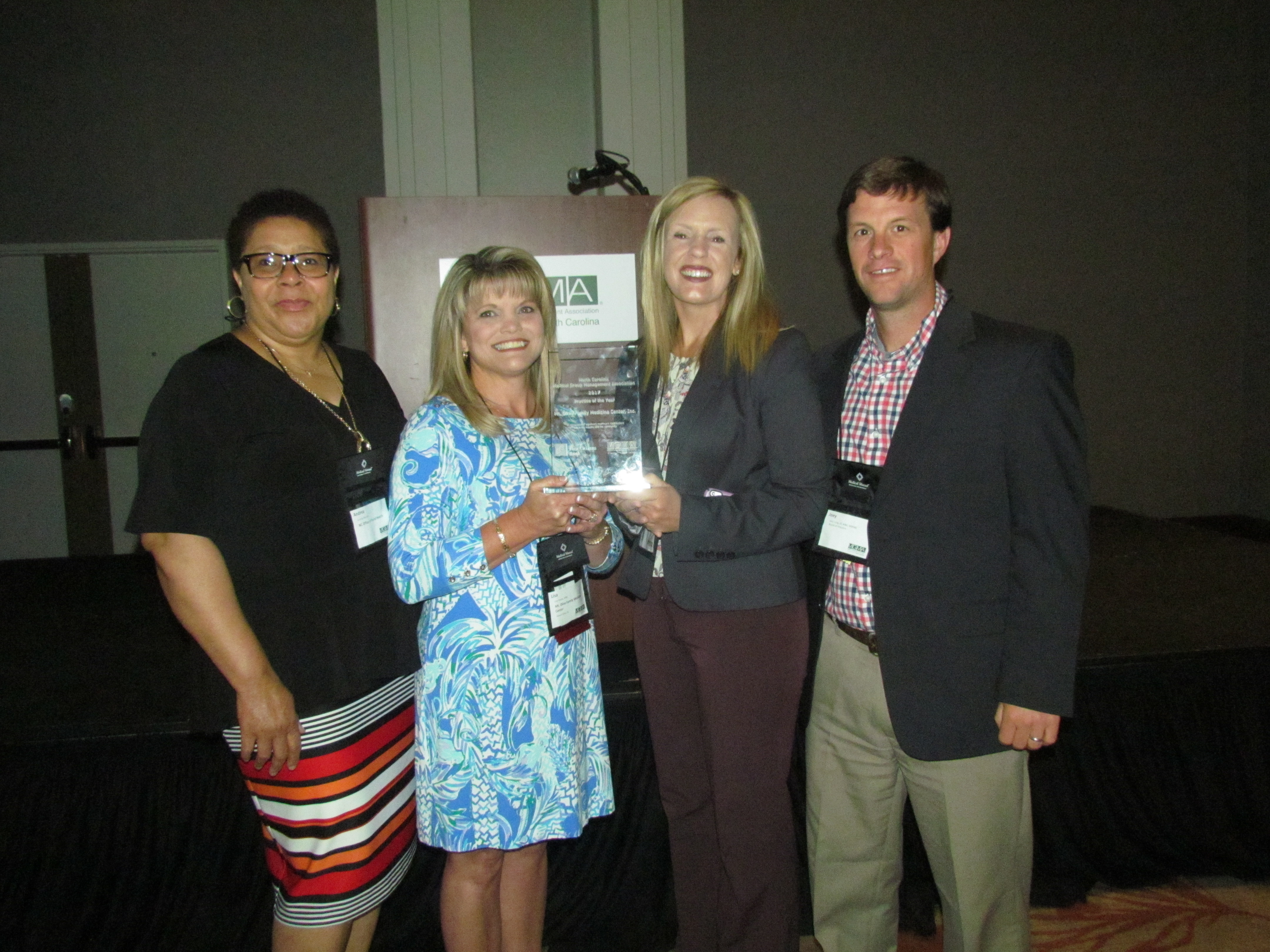 mt olive family medicine center inc receives 2017 annual ncmgma